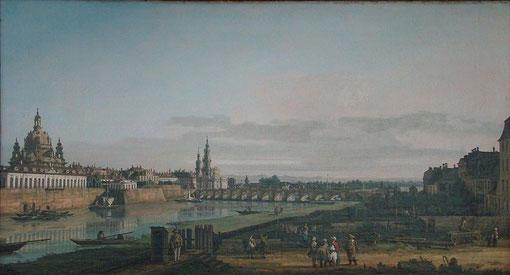 """""""Canaletto-Blick"""" Bernardo Bellotto"""