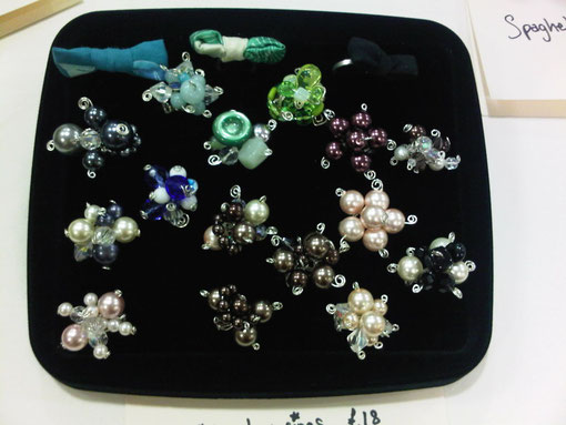 Chunky Cocktail Cluster Rings