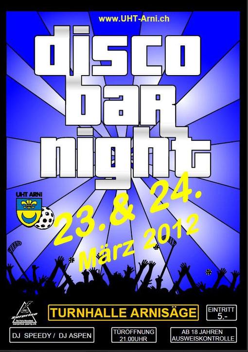 Bar Disco Night Arni, Arnisäge, DJ aspen, DJ Speedy, 23.24.03.2012