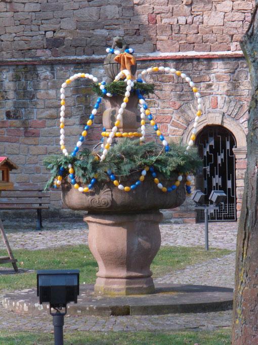 Osterbrunnen in Flehingen