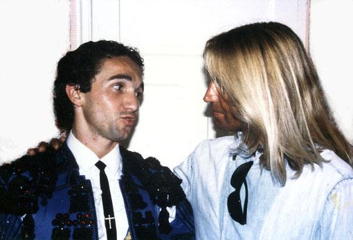 Avec mon ami Richard Milian, coeur de lion