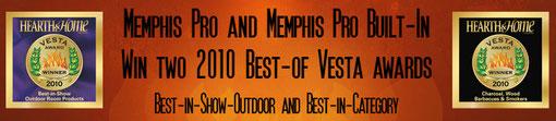 Memphis Grills wurden auch in den USA bereits mehrfach ausgezeichnet
