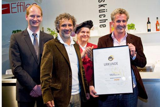 Überreichung des Intl. BBQ-Awards 2011