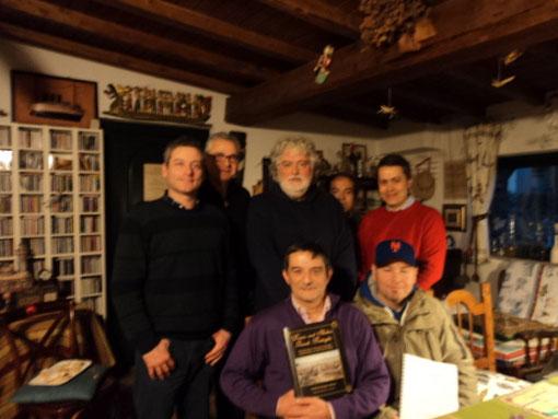 In piedi. Da sinistra: Stefano Plescia, Fausto Cominato, Luigi Pecchia, Federico Bartelli, Diego Chisena. Seduti. Da sinistra: Sergio Laliscia e Renzo Roberti