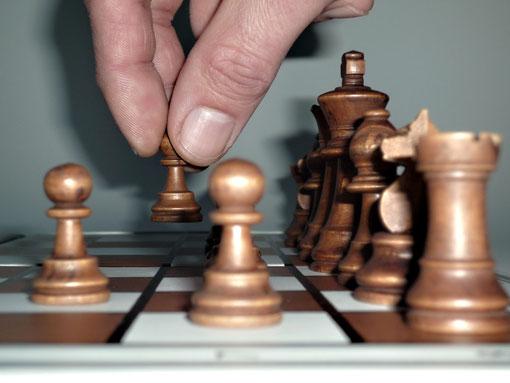 Vertrieb und Schach erfordern strategische Kompetenz