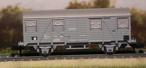 Carro chiuso grigio - Roco - 25605