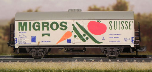Frigo Migros lato A - Rivarossi - 9309