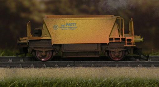 Carro tramoggia - Sagi Model -115