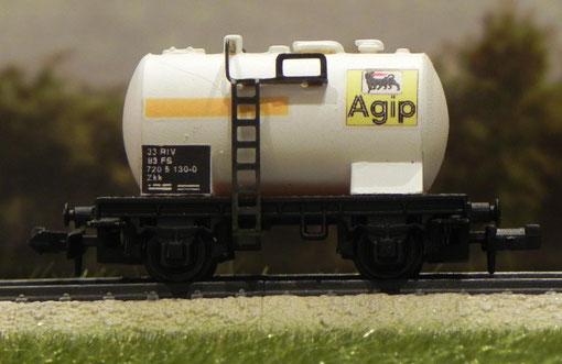 Carro cisterna AGIP - AcarModels - 3413