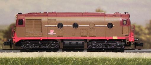 D341 2001 prima serie Breda - Pirata Models