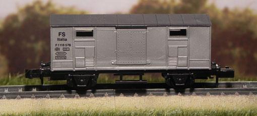 Carro chiuso grigio - SwissToys - 52