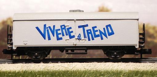"""Carro commemorativo lato A """"Vivere il treno"""" - Rivarossi - 9390"""