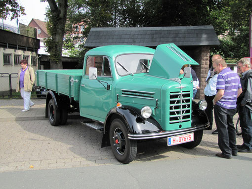 Borgward LKW B 1250 von Georg Knopp