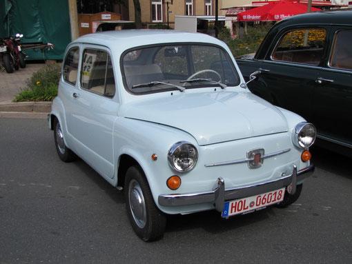 ....und sein großer Bruder, der Fiat 600 von Gerhard Minke .