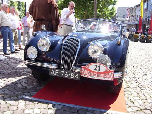Immer wieder eine Augenweide: Der Jaguar XK 120