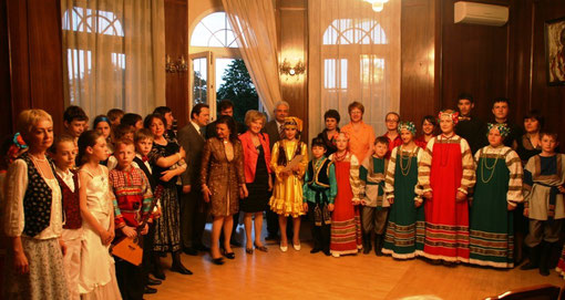 Заключительный концерт в посольстве Украины в Австрии. Konzert in der Botschaft der Unkraine