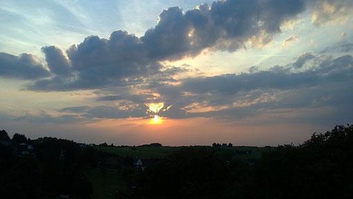 Auch superschöner Wolkenhimmel