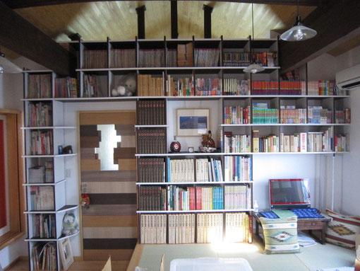 組立式本棚 快適空間