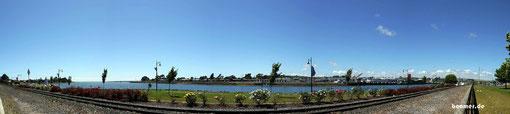 der Hafen von Devonport