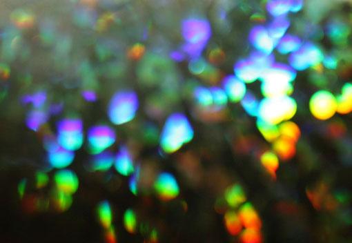 Fantasie & Wirklichkeit Fotografien und Gedichte Kathrin Steiger bunt im dunkel Farbenregen