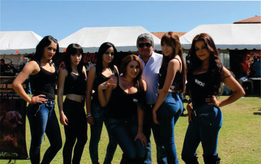 MODELS BULLY SHOW en el ULTIMATE BULLY SHOW de GUADALAJARA