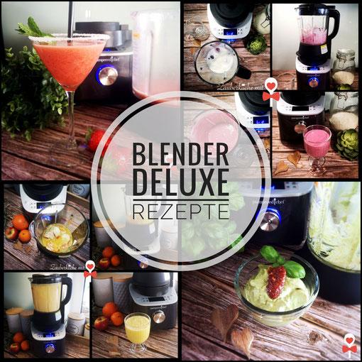 Deluxe Blender Pampered Chef, Rezepte, Zauberküche mit Herz, Anleitung