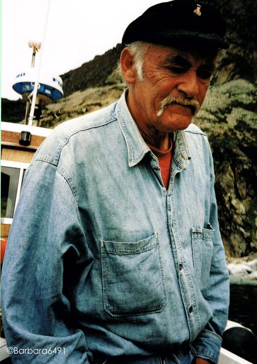 """""""Der Menschenfischer"""", ein Skipper aus der Gegend der Slieve League, Co. Donegal, Rep. Irland"""