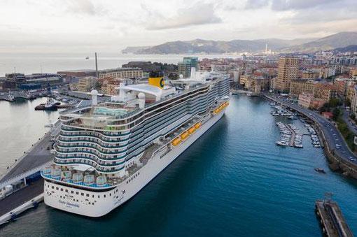 Die neuesten Schiffe gehen 2021 - 22 im  Mittelmeer auf Fahrt