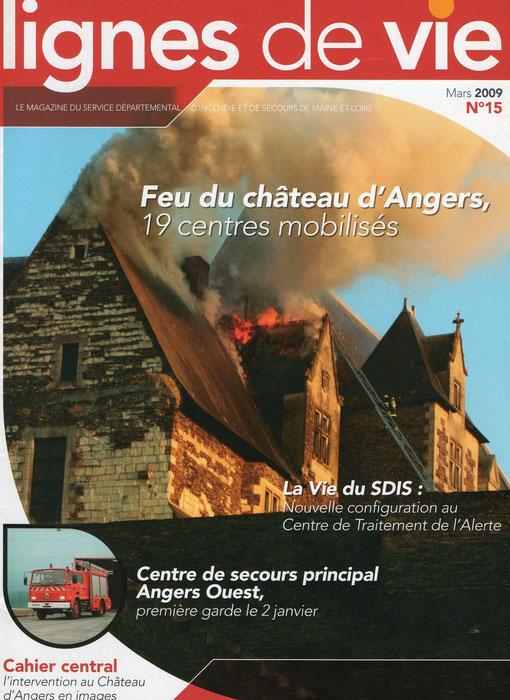 Couverture du ligne de vie n°15 ( mars 2009 )