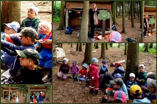 """8. Juni, 2011 Waldkindergarten Vilsbiburg """"Das fliegende Bäumchen"""""""