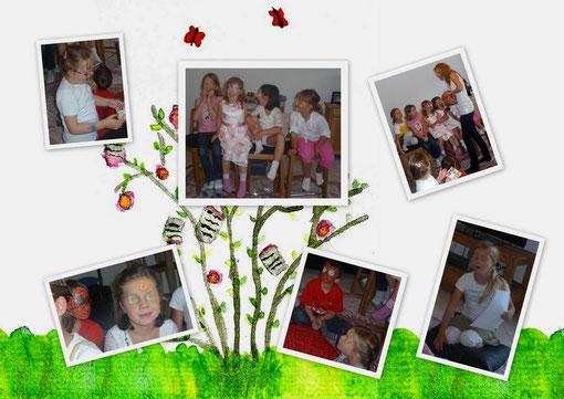 30. September, Kindergeburtstag mit Kinderschminken und Geschichten
