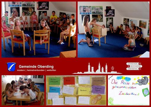 Donnerstag, 2. August 2012; Ferienprogramm Oberding - Geschichten-Erfinde-Werkstatt