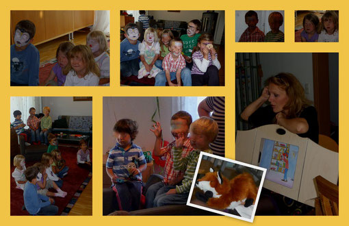 14. September, Geburtstagsfeier mit Freunden, Schminken und Geschichten!