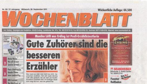 Wochenblatt ED, 29.9.11