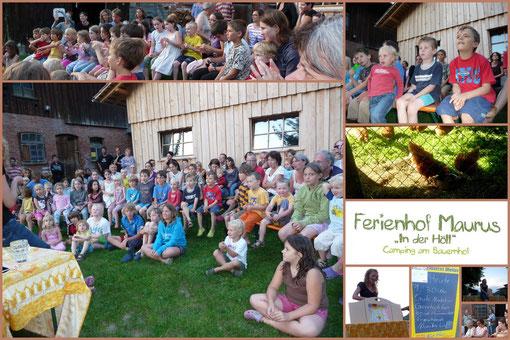 24. August, Ferienhof Maurus
