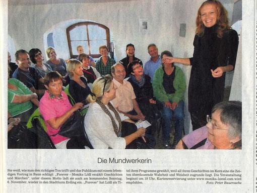 Süddeutsche Zeitung, Regionalteil Erding, 4. November 2011