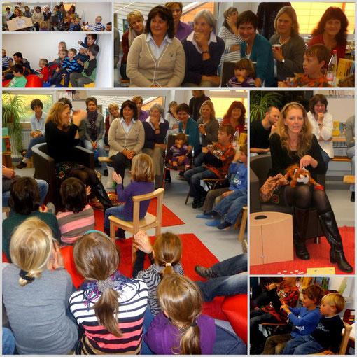Neueröffnung der Gemeindebücherei Moosinning, 30. Okt. 2011