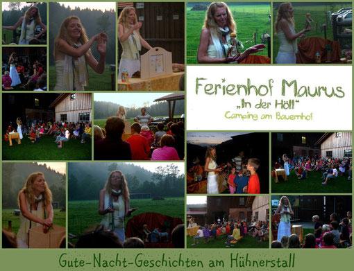 Ferienhof Maurus im Allgäu am 23. August 2012 am Hühnerstall