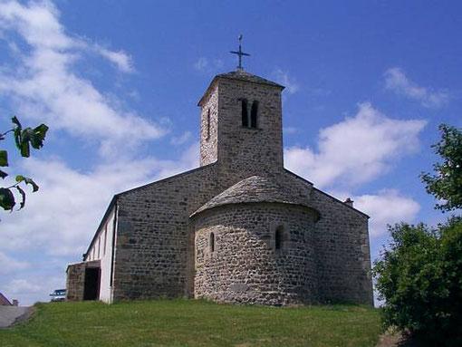 La partie ancienne de l'église