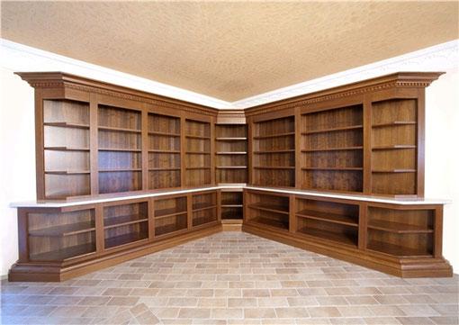libreria su misura in toulipier-pioppo