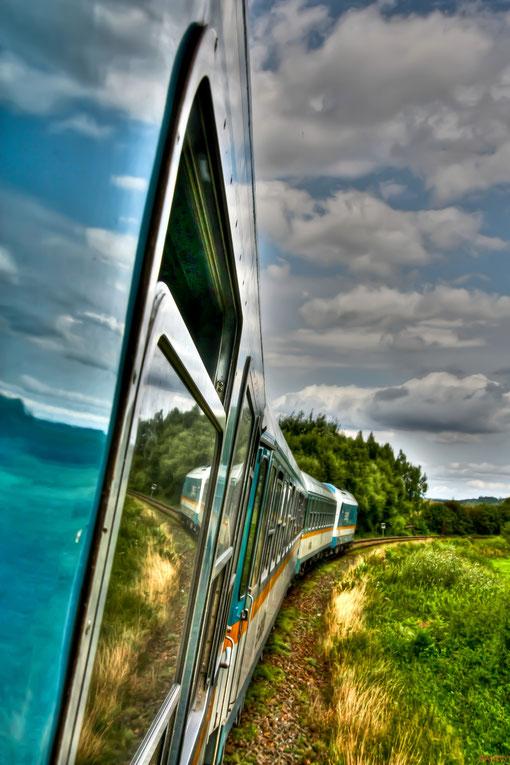 Train to Praha in High Dynamik Range