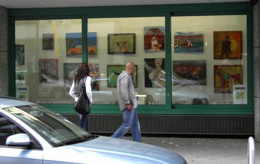 KunstSchauFenster Mannheim, O2 ( Kunststrasse)