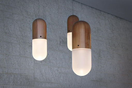 Pil Lamps by Tim Wigmore