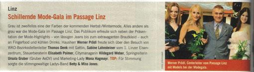 Weekend-Magazin Linz, 1.10.2010
