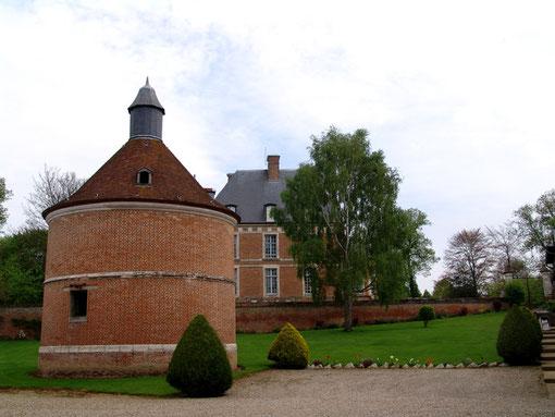Colombier au château de Frucourt