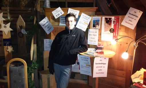 Verkauf auf der Stadl-Weihnacht Lindorf