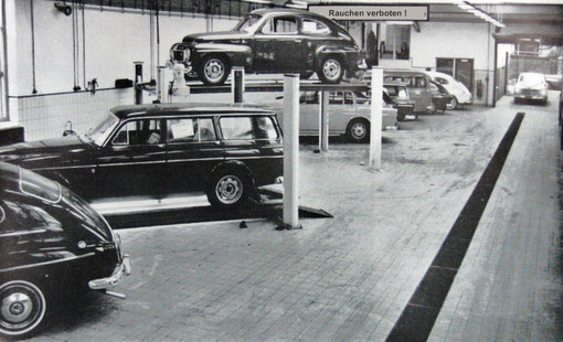 Werkstatt Einblick aus den 60ziger