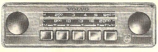 Volvo Radio von Philips