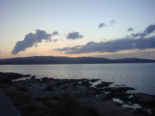Sonnenuntergang in Lassi