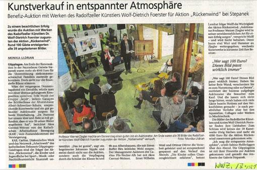 Pressebericht vom 17.03.2012 aus der NWZ